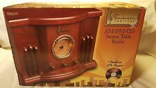 Emerson Vintage Heritage am/fm/cd Stereo Table Radio (Model NR51RW)