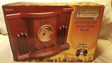 Emerson Vintage Heritage am/fm/cd Stereo Table Radio (Model NR51RW)