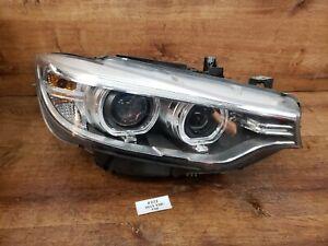 ✅ 14-17 OEM BMW F32 F36 Right Passenger Adaptive Bi-Xenon Headlight Complete