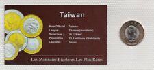 Monnaie bicolore Taiwan 20 Yuan
