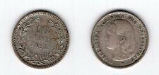 NIEDERLANDE   10 Cents 1897   Wilhelmina