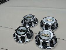 """00  - 08 CHEVY Silverado 2500 HD TRUCK 16"""" 8 LUG CHROME CENTER CAPS SET OF 4"""