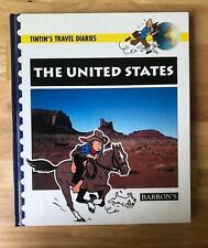 Tintin's Travel Diaries The United States Hardcover Excellent