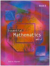 Essential Mathematics: Book 8 by David Rayner (Paperback, 2001)
