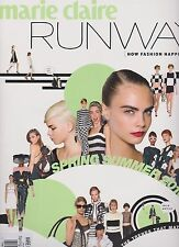 """Marie Claire Runway Magazine """"How Fashion Happens"""" Spring/Summer 2013."""