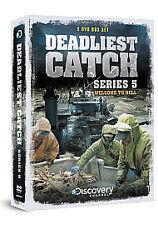 Deadliest Catch - Series 5 (DVD, 2009, 5-Disc Set)GENUINE ORIGINAL! NEW / SEALED