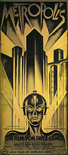 Metropolis 22x30 Hand Numbered Ltd. Edition Art Deco Movie Poster Print Sifi