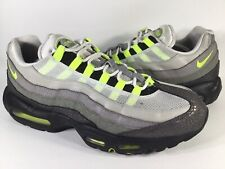 Nike Air Max 95 Premium OG Safari Grey Black Volt Green Size 13 Rare 759986-071