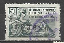 7614- LOTE FISCALES CORPORATIVOS  MUTUALIDAD PROCURADORES ESPAÑA RAROS CON CIFRA
