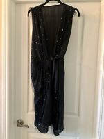 L'agence Sleeveless Wrap Dress Size 4