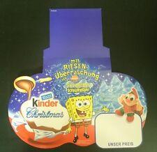 """Original Palettenanhänger """"Spongebob"""" Deutschland 2005 Maxi Ei"""