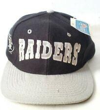 VTG Los Angeles Raiders Block Snapback Hat Team NFL Football NWT