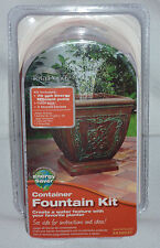 New TotalPond A16531 Pond Container - Planter Fountain Kit (Energy Saver) 70gph
