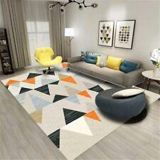 Nordic Geometric Triangular Carpet Parlor Area Rugs Flannel Soft Rugs Carpet