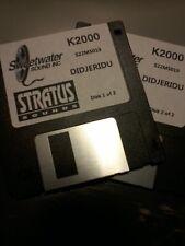 KURZWEIL ~ DIDJERIDU ~ Floppy Disk Set K2XXX/K2500/K2600 w/VAST PROGRAMMINGS!!!