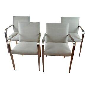 Vintage Designer Armchairs -Set of 4
