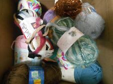 Variety Lot of 14 Skeins of Yarn - all pictured