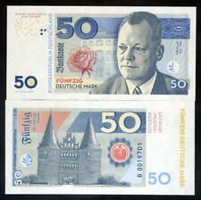 Germany, Federal Republic, 50 Mark, Private Issue, Specimen, 2018 - Willy Brandt