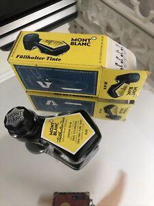 "RARE Vintage FULL WITH BOX  Montblanc No.29 ""Liegeflasche"" Ink  2 OZ"