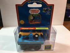 THOMAS THE TANK & FRIENDS - WOOD HANDCAR HAND CAR W/COLLECTOR CARD 2004 **NEW**
