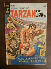 Tarzan #186 - Gold Key - Edgar Rice Burroughs - Silver Age
