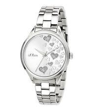 s.Oliver Damen Armbanduhr | Damenuhr Faltschließe  Multifunktionswerk SO-3599-MQ