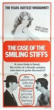 THE CASE OF THE SMILING STIFFS ORIGINAL CINEMA RELEASE DAYBILL MOVIE POSTER