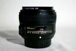Objektiv Nikkor AF-S 50mm f/1.8G DX Nikon (WIE NEU!)