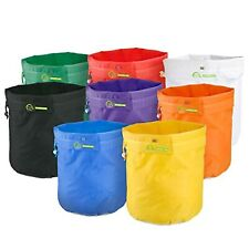 8 Pack Bubble Hash Bag 12.2 Inch Tall Labeled and Color Coded Waterproof Bags