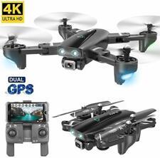 Drohne 5G GPS FPV WIFI 1080P 4K HD Kamera KopflosModus One Key Landung Schwarz
