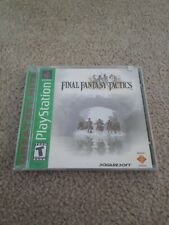 Final Fantasy Tactics (Sony PlayStation 1, 1998)