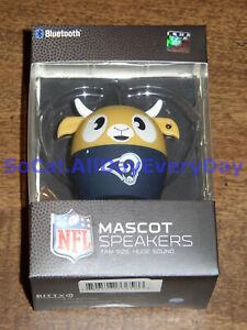 NEW! Bitty Boomers Portable Wireless Bluetooth Speaker - NFL LA Los Angeles Rams
