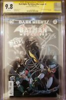 Dark Nights: The Batman Who Laughs 1 cgc 9.8 SS Signed by James Tynion IV.