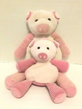 """Scentsy Buddy Penny Pig And Baby Penny Pig Plush Pink Stuffed Animal 15"""" & 9"""""""