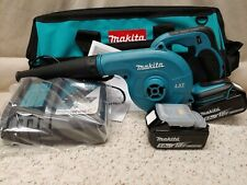 Makita Lxt*Model Dub182T2*18V*Cordless Lit-Ion Blower Kit*2-5.0Ah Batteries*New!