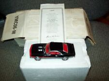 MATCHBOX 1968 CHEVY CAMARO SS-396, MUSCLE CAR COLLECTION, 1:43 DIECAST, COA