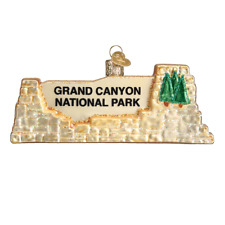 Old World Christmas Grand Canyon National Park (36175)X Ornament w/ Owc Bx