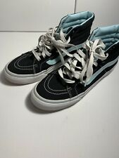Vans Pro Mens Sz 5.0 Wmns Sz 6.5 High Top Shoes Skate Sneakers Black Canvas Mint