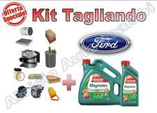 KIT TAGLIANDO FORD FOCUS III 1.5 TDCI 95/105/120 CV 2014-> OLIO CASTROL + FILTRI