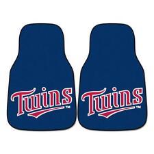 "Fan Mats MLB - Minnesota Twins 2-pc Carpeted Car Mats 17""x27"" 6393"