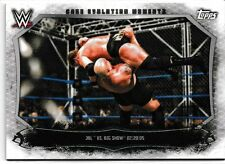 JBL Big Show 2015 Topps WWE Undisputed Cage Evolution Moments Card # CEM7