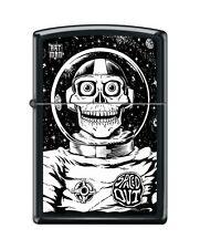 Zippo 218 Spaced Out 'Art Man' Astronaut Moon & Stars RARE Lighter