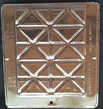 Large Break-Up Bar Chocolate Plasctic Candy Soap Mold CML 107