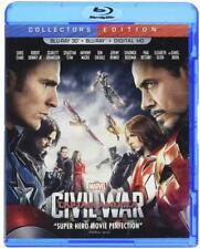 Captain America: Civil War in 3D (Blu-ray Disc, 2016, 3D Includes Digital Copy)