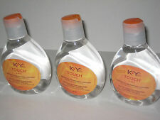 3 BOTTLES KY K Y TOUCH 2-IN 1 WARMING PERSONAL LUBRICANT 5.0 OZ BRAND NEW HTF