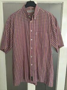 Ben Sherman Original® Checked Short Sleeve Shirt Button Down Collar