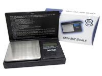 Mini Electronic Digital Pocket Scale 100g x 0.01g On Myco MZ-100 UK