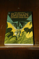 The Greatest Batman Stories ever told Vol 1 First Print dc 1989 Joker Robin TPB