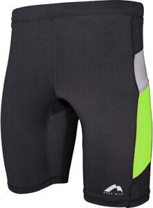 More Mile More-Tech Mens Short Running Tights - Black