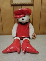 "Chantilly Lane Musicals 22"" Goldie Bear. Sings ""These Boots Are Made For..."